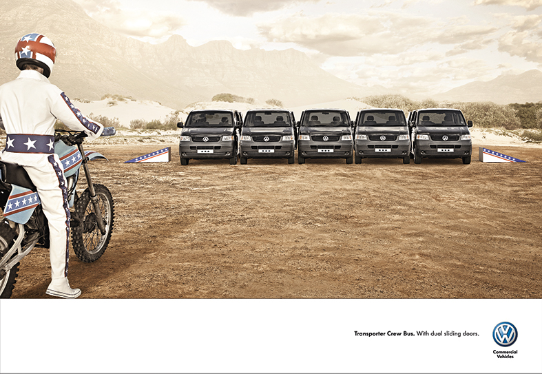 VW Crewbus Daredevil